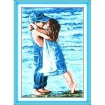 ИДЕЙКА вышивка Детский поцелуй 2