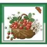 ИДЕЙКА вышивка. Корзина с ягодами