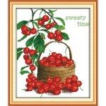 Вышивка крестиком Сладкие ягоды