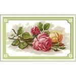 ИДЕЙКА вышивка. Цветные розы