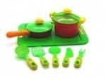Набор пластиковой посудки