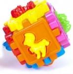 Логический куб-сортер, с животными