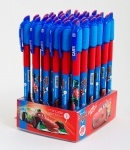 """Ручка шар/масл. """"Тачки"""" синяя, 0,6 мм"""