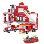 Конструктор Аусини Пожарная станция