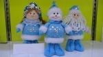 Дед Мороз/Снегурочка/снеговик мягкие