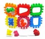 Логический куб-сортер, с вкладышами