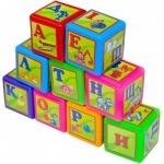 Кубики 9 Абетка малые