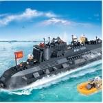 Конструктор BANBAO военный корабль