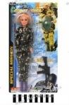 Кукла солдат с автоматом