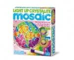 Набор Светящаяся кристаллическая мозаика (днем - витраж, ночью светильник)