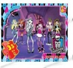 """Пазлы серии """"Monster High"""" 35 эл."""
