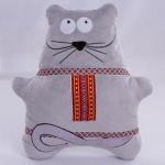 Мишка с орнаментом, 38 см, ТМ Копиця