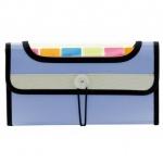 Папка на резинке 7 цветных карманов