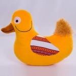 Мягкая игрушка Утка с орнаментом