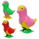 Заводная игрушка попугай на подставке