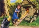 Пазлы детские Страна Оз, 60 элементов