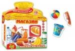 """Магниты обучающие """"Магазин"""" ТМ Vladi Toys"""
