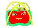 Коврик для малышей с погремушками на дуге
