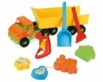 """Грузовик с прицепом """"City Truck"""" с набором для песка, TM Тигрес"""