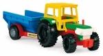 Трактор с прицепом и лошадкой Тигрес