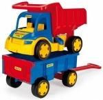 Большой игрушечный грузовик Гигант + тележка ТМ Тигрес