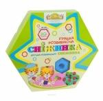 Развивающая игрушка Снежинка 20 элементов, Тигрес