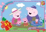 "GToys: Пазлы серии ""Свинка Пеппа"" (Peppa pig)"