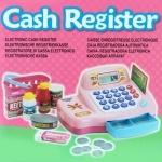 Электронный кассовый аппарат розовый Кинвей