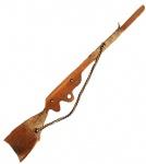 Ружье деревянное, карпатский бук, 50см