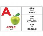 """Карточки мини английские """"Alphabet"""""""