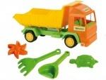 """Тигрес. Грузовик """"Mini truck"""" с набором для песка 5 эл."""