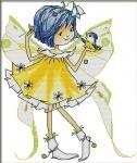 Вышивка крестиком Маленькая фея