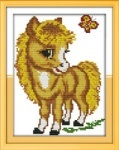 """Вышивка крестом """"Маленький пони"""""""