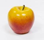 Яблоко желто-красное, 7*7см