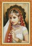 Вышивка крестом Индийская красавица 2