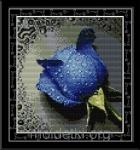 Набор для вышивки Синяя роза