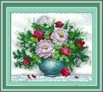 Вышивка крестом Яркие цветы 2