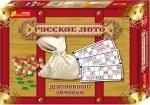 Настольная игра «Русское лото» с деревянными боченками