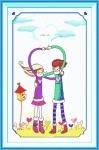 Вышивка крестом Любовь