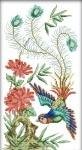Вышивка крестиком Нежные птички