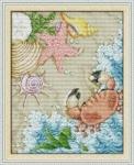 Набор для вышивания крестиком Морское побережье
