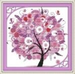 Вышивка крестом Дерево счастья 3