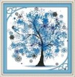 Вышивка крестиком Дерево счастья 4