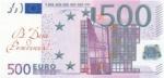 """Конверт для денег """"С днем рождения"""" (500 евро)"""