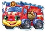 Кумедні машинки (міні) : Пожежна машина (укр)