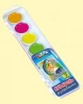 Акварель Набор 7 цветов флуоресцентная