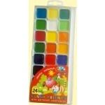 """Акварельные краски """"Забавные друзья"""", 24 цвета"""