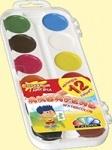 """Акварельные краски 12 цветов """"Увлечение"""""""