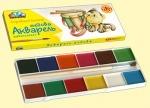 """Акварельные краски 12 цветов """"Любимые игрушки"""""""