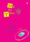 "Тетрадь А5/96  ""Me to You"" YES"
